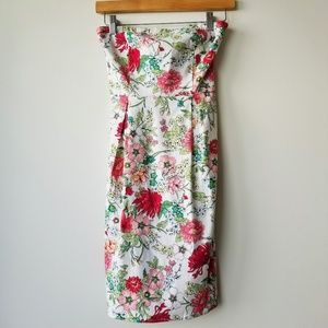 Old Navy | NWT Floral Strapless Summer Dress